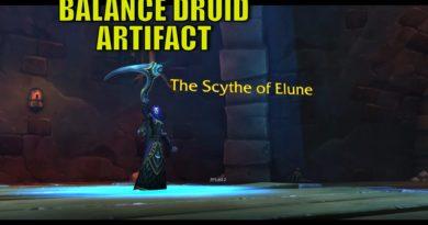 Scythe of Elune – a Balance druidák fegyvere