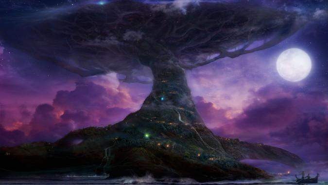 Teldrassil, a Föld Koronája