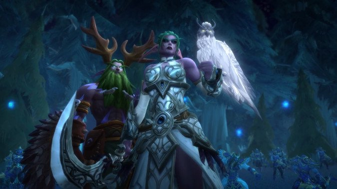 Elune, a Night Warrior és a Void